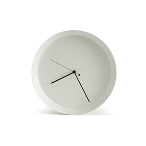 Dish Clock_White