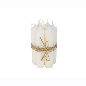 Short Dinner Candle_White1pcs