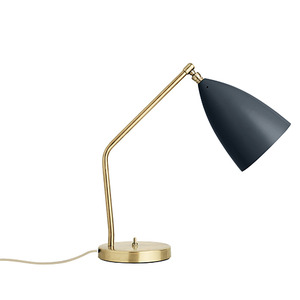 Grasshopper table lamp anthracite grey