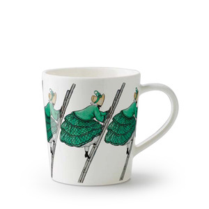 Elsa Beskow Mug 400ml Aunt Green