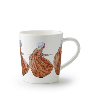 Elsa Beskow Mug 400ml Aunt Brown