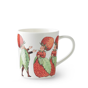 Elsa Beskow Mug 400ml The Strawberry Family