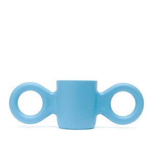 Dombo design cup, light blue