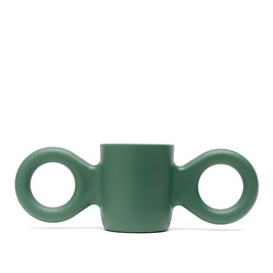 Dombo design cup, light green