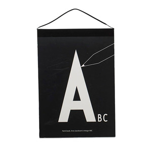 AJ Paint Book with the letters