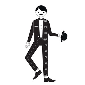 Measureman Wallsticker