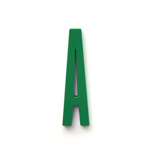 Original Design Letter Green