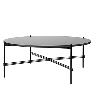 GamFratesi TS Table Ø105 Graphite Black/Black