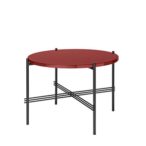 GamFratesi TS Table Ø55 Rusty Red/Black
