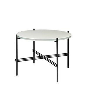 GamFratesi TS Table Ø55 Oyster White/Black 주문 후 4개월 소요