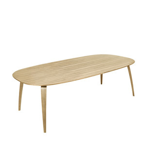 GUBI Dining Table Ellipse Oak