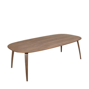 GUBI Dining Table Ellipse Walnut