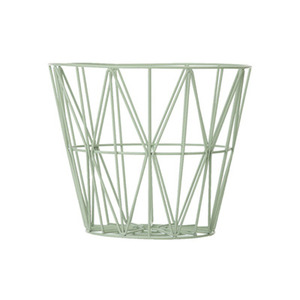 Wire Basket Small Mint