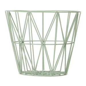 Wire Basket Large Mint