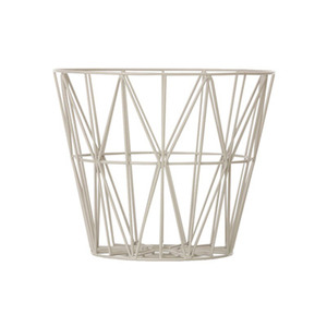 Wire Basket Small Grey