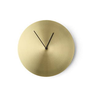 Norm Wall Clock Brushed Brass 주문 후 3개월 소요