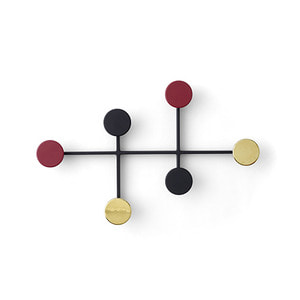 Afteroom Coat Hanger Black/Brass