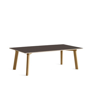 Copenhague DEUX oak lacquer table CPH250 L120 x W60 x H39 cm 5 colors