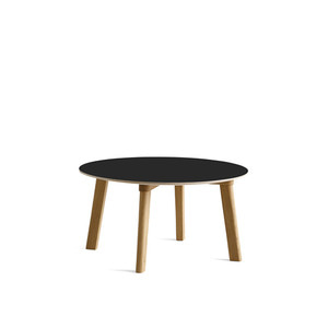 Copenhague DEUX oak lacquer table CPH250 Ø75 x H39 cm 5 colors