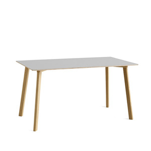 Copenhague DEUX oak lacquer table CPH210 L140 X W75 X H73 cm 5 colors