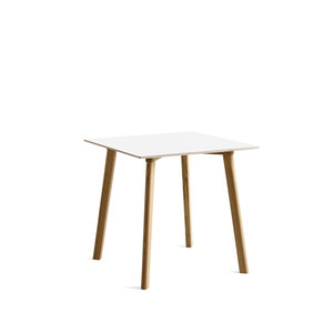Copenhague DEUX oak lacquer table CPH210 L75 X W75 X H73 cm 5 colors