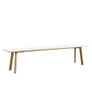 Copenhague DEUX oak lacquer bench CPH215 L200 x W35 x H45 cm 5 colors