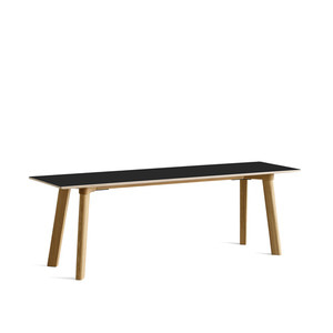 Copenhague DEUX oak lacquer bench CPH215 L140 x W35 x H45 cm 5 colors