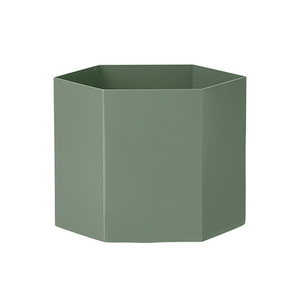 Hexagon Pot XL Dusty Green