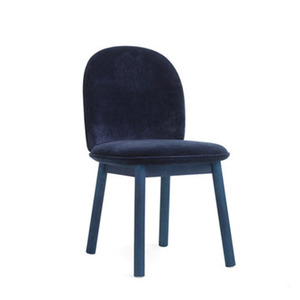 Ace Chair Velour Dark Blue  주문 후 3개월 소요
