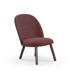 Ace Lounge Chair Nist dark red