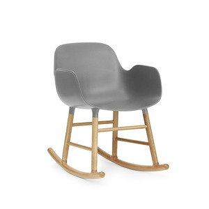 Form Rocking Armchair Oak