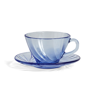 French Coffee Cup With Saucer  주문 후 2개월 소요