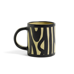 Wood Mug Light Yellow