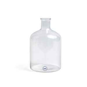 Turkish Cylinder Glass Bottle Clear