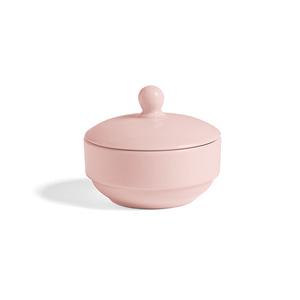 Rainbow Sugar Bowl Light Pink