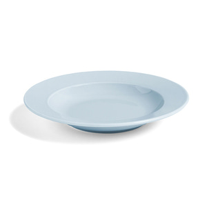 Rainbow Plate Deep Light Blue