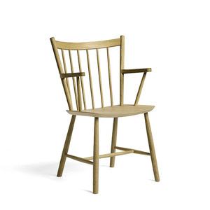 J42 Chair FDB Solid Oak Matt Lacquered  주문 후 3개월 소요