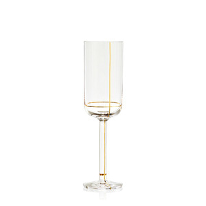 Colour Glass, Champagne 1pcs