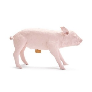 Bank In The Form Of A Pig Matte Pink