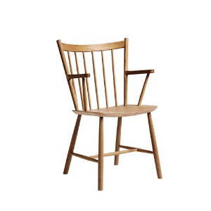 J42 Chair FDB Solid Oak Oiled 주문 후 2개월 소요