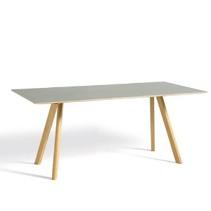 CPH30-Oak Lacquer-Lacquer Plywood Edge  Matt Lacquered Solid Oak Frame   L160 x W80 x H74(해외배송 가능상품)