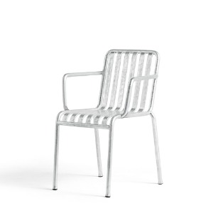 Palissade Arm Chair Hot Galvanized