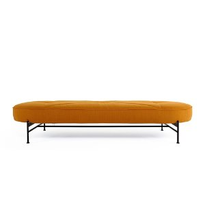 Linna Daybed  #507 Burned Curry/ Matt Black Steel