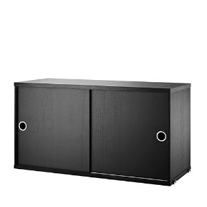 Cabinet 78*30 black stained ash (CD7830-03-1)