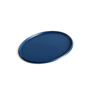 Ellipse Tray L Dark Blue