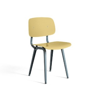 Revolt Chair Ocean Powder Coated Steel-Biscotti