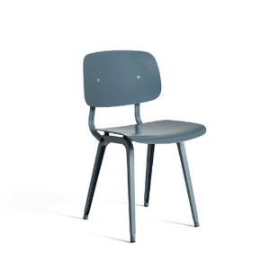 Revolt Chair Ocean Powder Coated Steel-Ocean